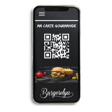 Application mobile fidélisation restaurant avec carte dématérialisée