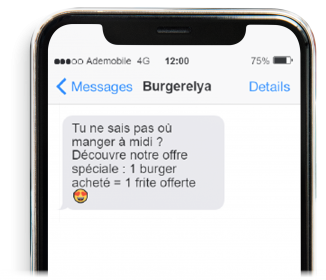 SMS promotionnel restaurant